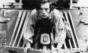 ASCII Buster Keaton