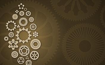 elegant gear pattern