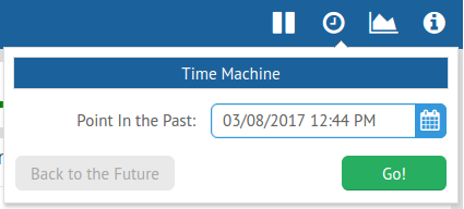 Galvanometer: Time Machine Widget